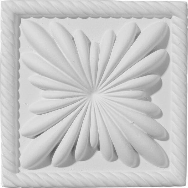 Cole 4 3/8H x 4 3/8W x 1D Plinth Block by Ekena Millwork