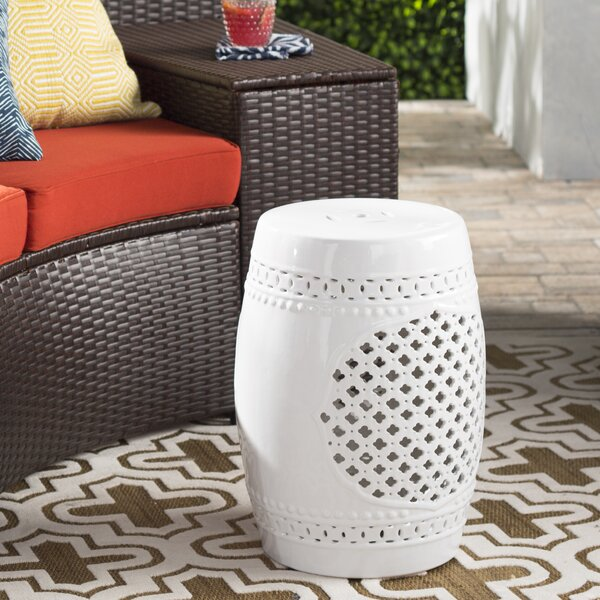 Hitton Garden Stool by Mistana