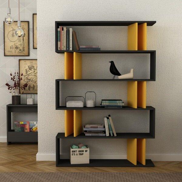 Ezra Modern Standard Bookcase by Brayden Studio