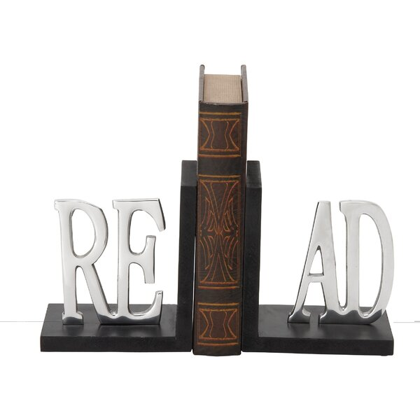Book Ends (Set of 2) by Woodland Imports