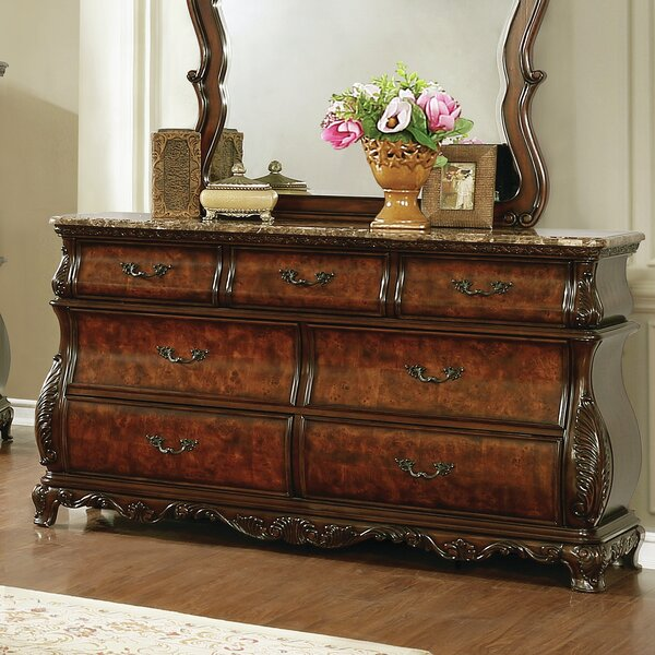 Crass 7 Drawer Double Dresser by Astoria Grand