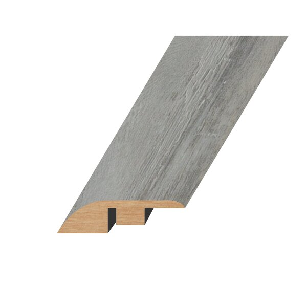 0.59 x 1.81 x 94.49 Oak Hard Surface Reducer in Gray Silver by Concept One Accessories