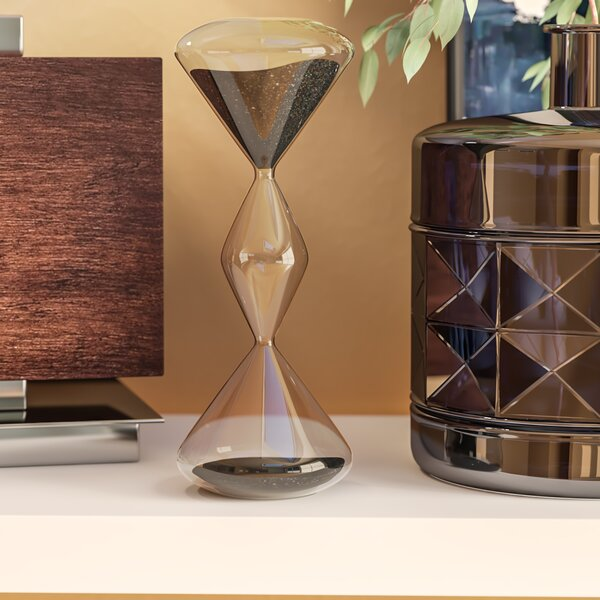 Wrightstown Decorative Hourglass by Wade Logan