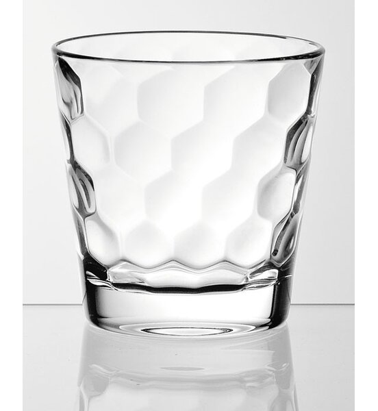 Honey 12.5 oz. Glass Cocktail Glasses (Set of 6) by EGO