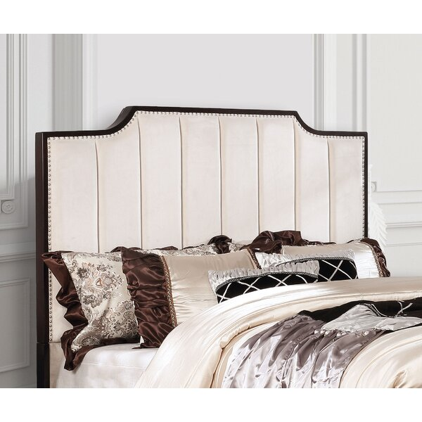 Upholstered Panel Headboard by Everly Quinn