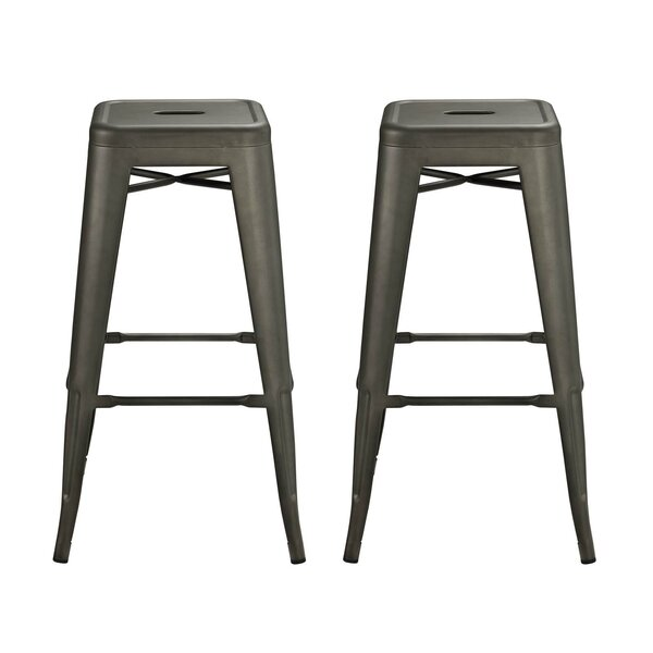 Ashlyn 30 Square Bar Stool (Set of 2) by Williston Forge