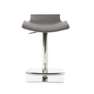 Ascella Adjustable Height Swivel Bar Stool by Orren Ellis