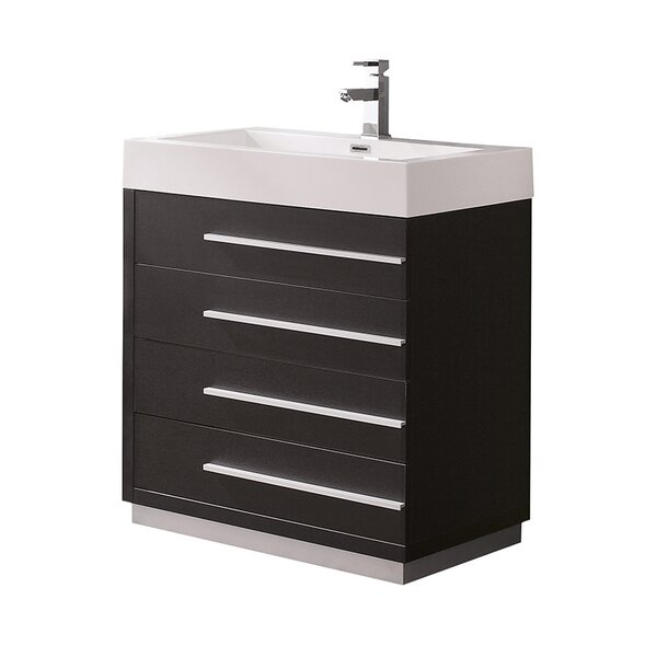 Livello 29 Single Bathroom Vanity Set by Fresca