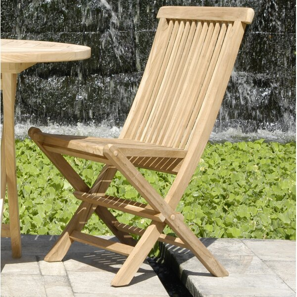 California Folding Teak Patio Dining Chair (Set Of 2) By Chic Teak