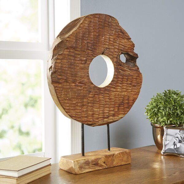 Carved Disc Decor by Birch Lane™