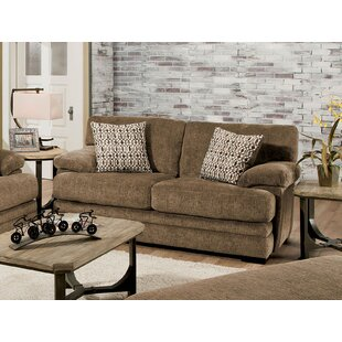 Ensminger Transitional Chenille Loveseat