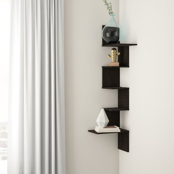 Authement 5-Tier Wall Floating Shelf by Ebern Designs