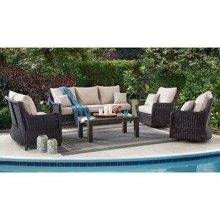 Macri 5 Piece Sofa Set with Cushions By Red Barrel Studio