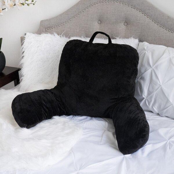 Saulsbury Plush Bed Rest Pillow by Latitude Run
