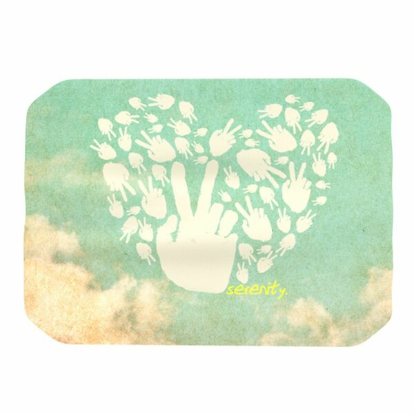 Serenity Placemat by KESS InHouse