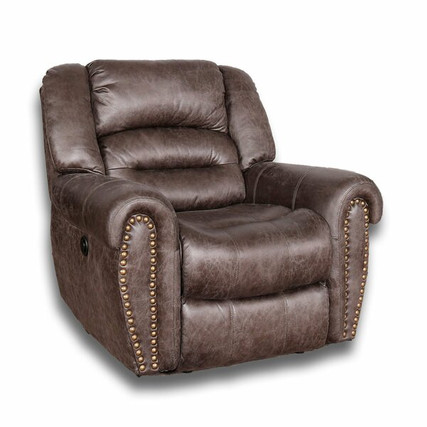 Holloway Power Rocker Recliner by Loon Peak