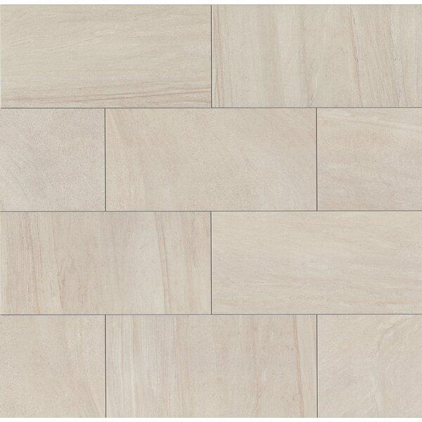 Purestone 12 x 24 Porcelain Wood Look/Field Tile in Grigio by Bedrosians