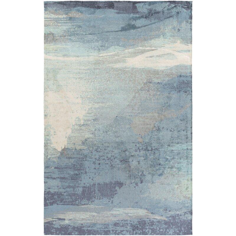 Greenlee Blue/Gray Area Rug