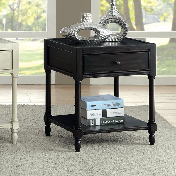 Lesperance End Table by August Grove