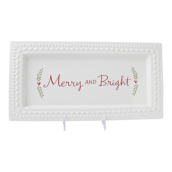 Holiday Ceramic Serving Platter by Hallmark Home & Gifts