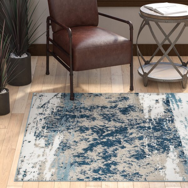 Rockford Blue/Taupe Area Rug by Trent Austin Design