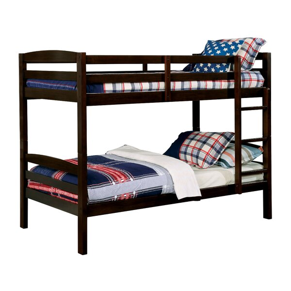 Sulligent Twin over Twin Bunk Bed by Harriet Bee