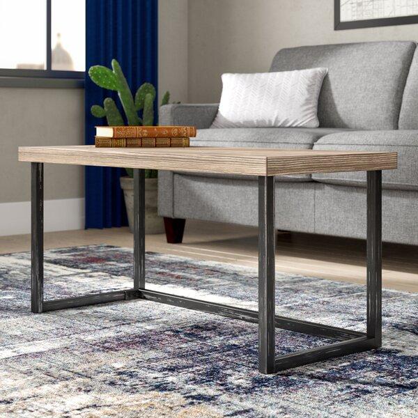 Adalheid Parquet Coffee Table by Trent Austin Design