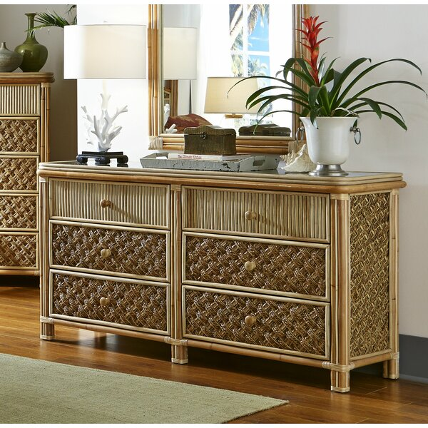 Jovani 6 Drawer Double Dresser by Bay Isle Home
