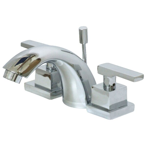 Executive Lavatory Widespread Bathroom Faucet With Drain Assembly By Kingston Brass