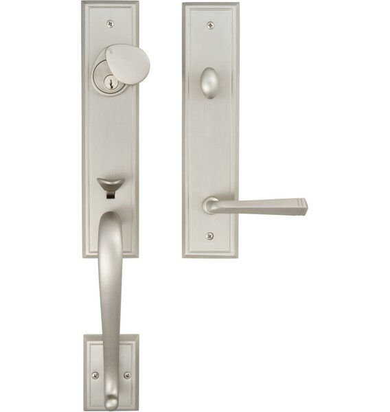 Premium San Jose Single Cylinder Handleset by Rockwell Security