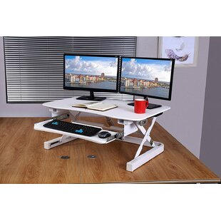 Electric Height Adjustable Standing Desk Converter