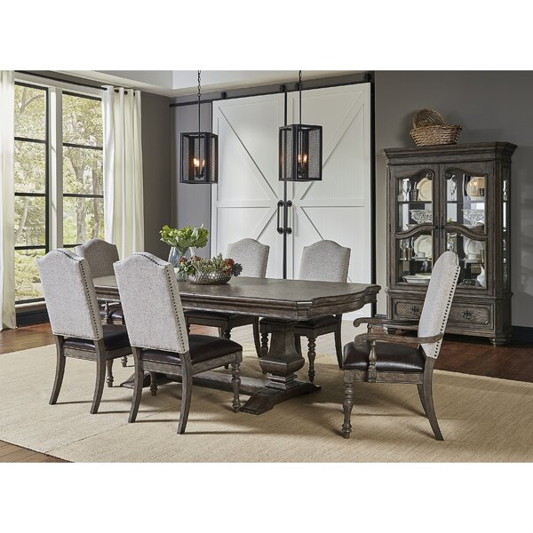 Lootens 7 Piece Extendable Dining Set by Canora Grey