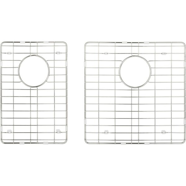 15 x 22 2 Piece Stainless Steel Sink Grid Set by Hardware Resources