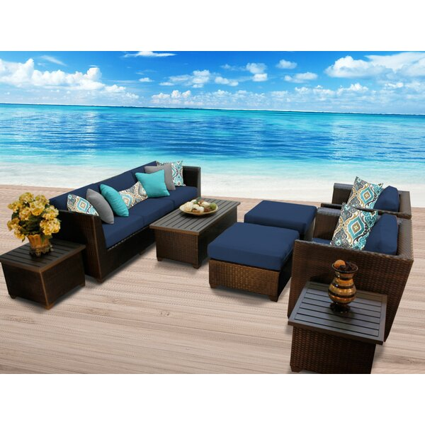 Tegan 10 Piece Sectional Seating Group with Cushions by Sol 72 Outdoor