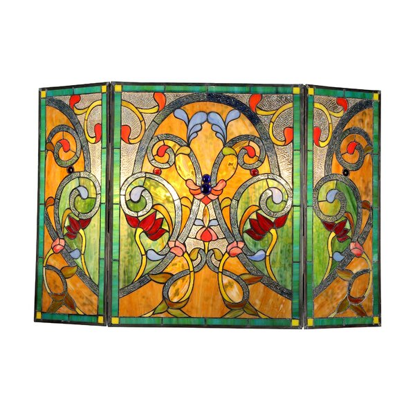 Laurie 3 Panel Metal Fireplace Screen By Astoria Grand