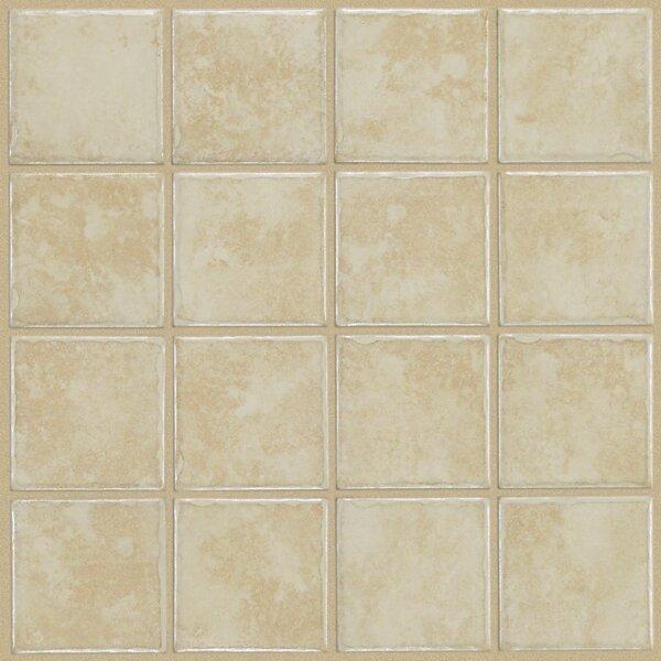 Fenton 3 x 3 Ceramic Field Tile in Plum by Shaw Floors