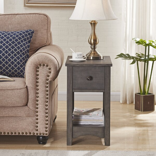 Salas End Table with Storage by Canora Grey