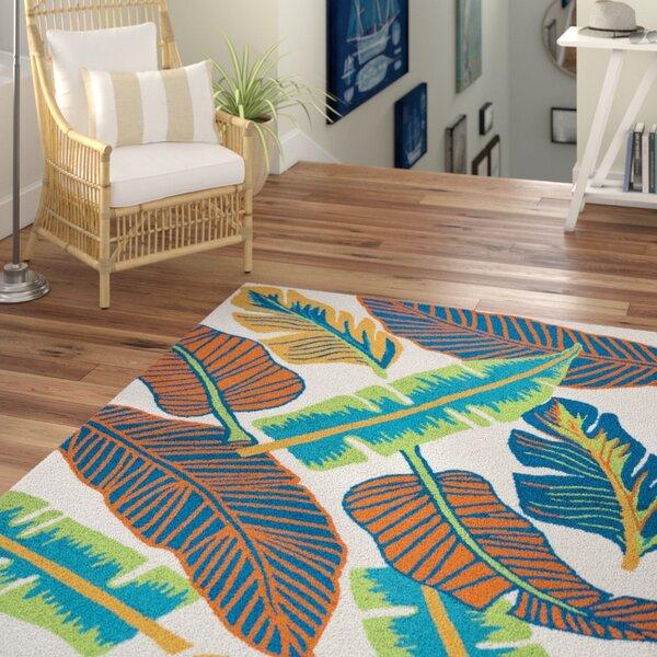 Mako Hand-Tufted Indoor/Outdoor Area Rug by Beachcrest Home