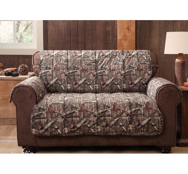 Breakup Infinity Box Cushion Loveseat Slipcover by Mossy Oak