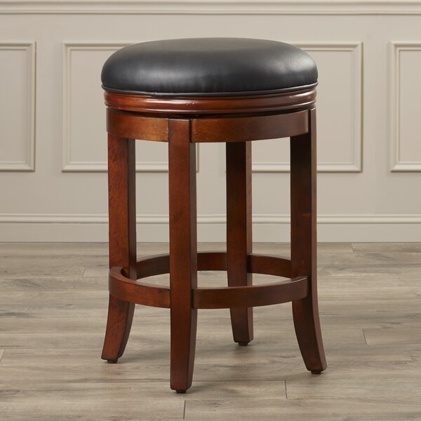 Grimshaw 26 Swivel Bar Stool by Darby Home Co