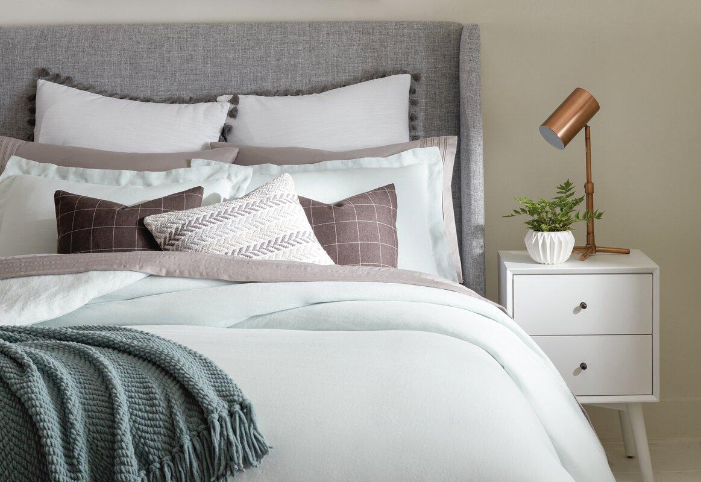 Mercury Row Alrai Upholstered Panel Bed & Reviews