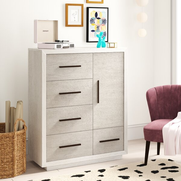 #2 Carlson 5 Drawer Media Chest By Trule Teen Today Only Sale
