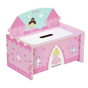 Nathaniel Princess Castle Toy Storage Bench