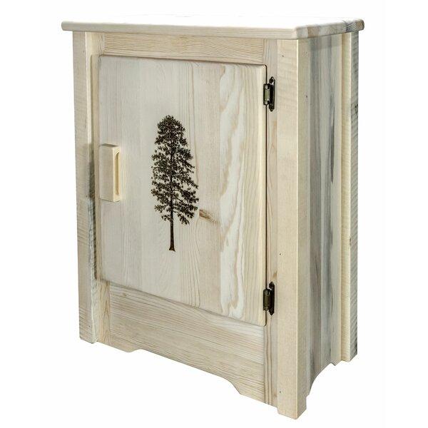 Abella 1 Door Accent Cabinet by Loon Peak