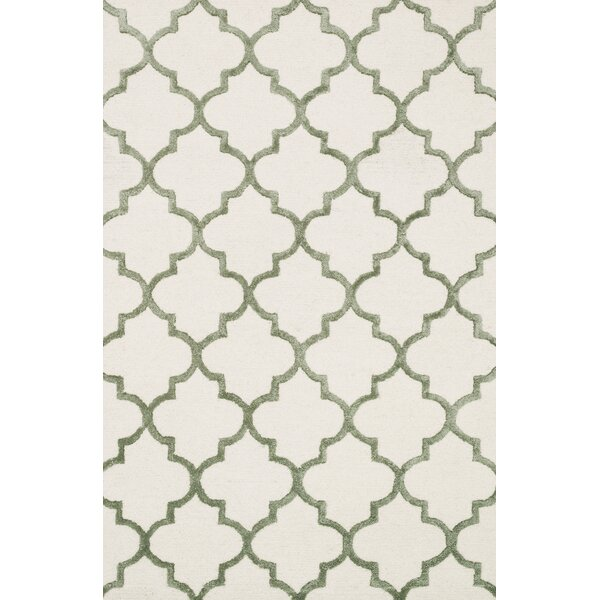 Kirkbride Ivory Area Rug by Charlton Home