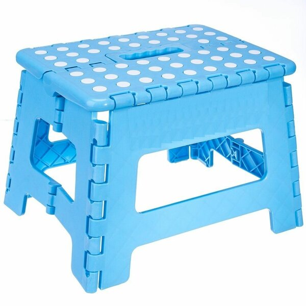 Heavy Duty Folding Step Stool with Gripping Surface by Imperial Home