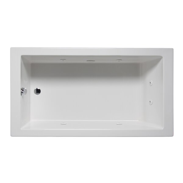 Wright 72 x 32 Drop in Whirlpool Bathtub by Americh