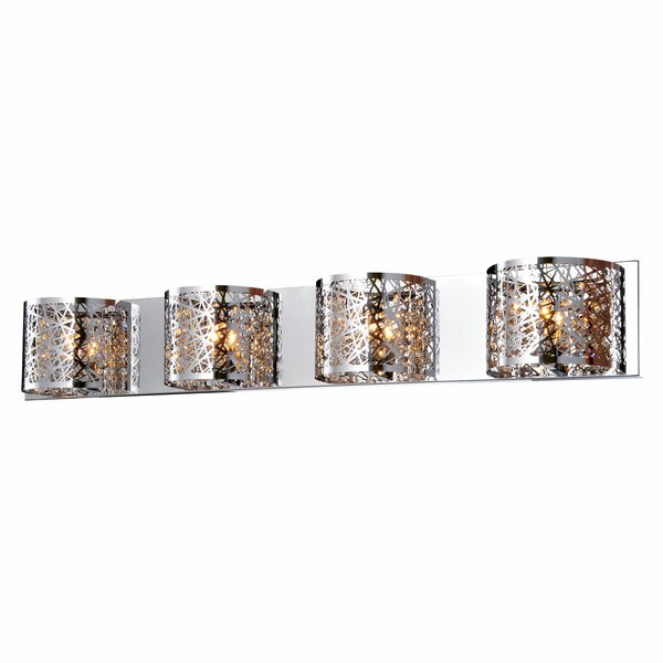 Alya 4-Light Wall Sconce by Everly Quinn