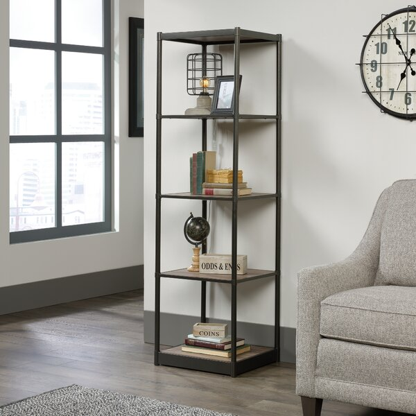 Theresa Tower Etagere Bookcase by Gracie Oaks