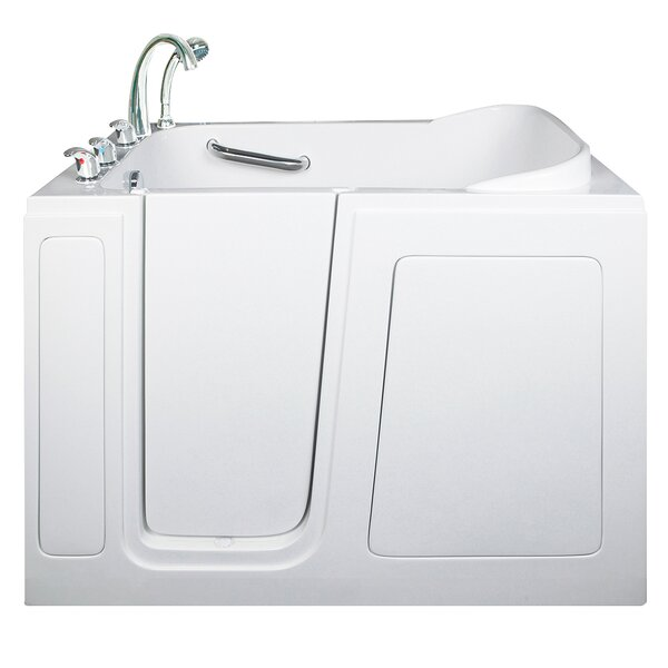 Front Entry Air Massage Whirlpool Walk-In Tub by Ella Walk In Baths